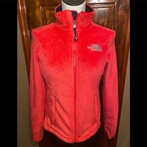 Women's North Face Furry Osito Coral Jacket XS